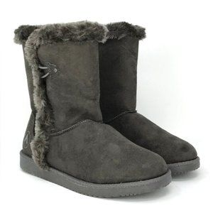 Airwalk Women's Faux Suede Winter Boots Size 5